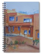 Southwestern Home Illustration Spiral Notebook