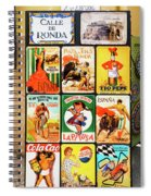Souvenir Copies Of Old Spanish Spiral Notebook