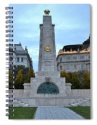 Soviet Red Army Monument Budapest Hungary Spiral Notebook