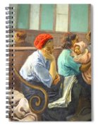 Soyer's A Railroad Station Waiting Room Spiral Notebook