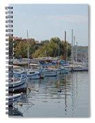 Sozopol Harbour Bulgaria. Spiral Notebook
