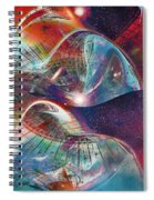 Space Bubble Spiral Notebook