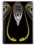 Space Fly Spiral Notebook