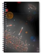 Space Junk Collectors Spiral Notebook