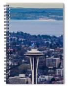 Space Needle 12th Man Seahawks Spiral Notebook