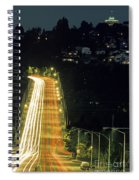 Space Needle And Aurora Bridge Spiral Notebook