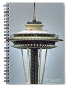 Space Needle Tower Seattle Washington Spiral Notebook