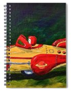 Space Patrol Two Spiral Notebook