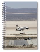 Space Shuttle Atlantis Landing Spiral Notebook