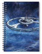 Deep Space Eight Station Of The Future Spiral Notebook