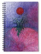 Space Tree Spiral Notebook