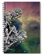 Space Walk Pod Spiral Notebook