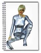 Spacegirl 8... Spiral Notebook