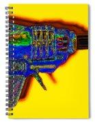 Spacegun 20130115v2 Spiral Notebook