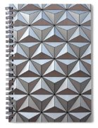 Spaceship Close Up Spiral Notebook