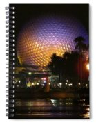 Spaceship Earth At Night Spiral Notebook