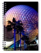 Spaceship Earth Spiral Notebook