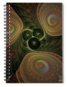 Spaceship Three Spiral Notebook