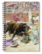 Spain - Bullfight C1900 Spiral Notebook