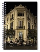 Spain At Night Spiral Notebook
