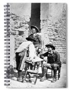 Spain Cowboys, C1875 Spiral Notebook