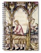 Spain: Medieval Hospital Spiral Notebook