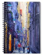 Spain Series 10 Barcelona Spiral Notebook