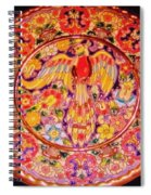 Spanish Bird Plate Spiral Notebook