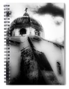 Spanish Cathedral Philippines Spiral Notebook