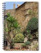 Spanish Church Garden Spiral Notebook
