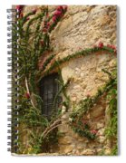 Spanish Church Wall Spiral Notebook