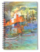Spanish Harbour 02 Spiral Notebook