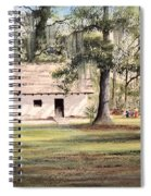 Spanish House Mission San Luis Tallahassee Spiral Notebook