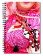Spanish  Mardi Gras Parade Finery Louisiana Spiral Notebook