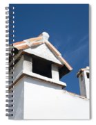 Spanish Rooftops Spiral Notebook