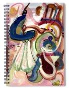 Spanish Rose Spiral Notebook
