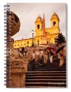 Spanish Steps Spiral Notebook