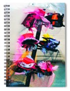 Spanish Town Parade Hats Spiral Notebook