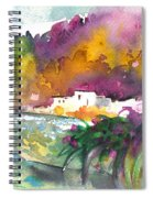 Spanish Village By The River 02 Spiral Notebook