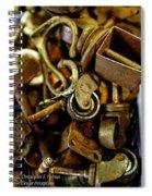 Spare Parts Spiral Notebook