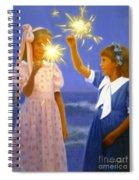 Sparkler Duet Spiral Notebook