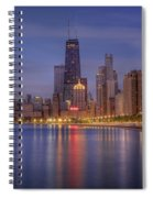 Sparkling Chicago  Spiral Notebook