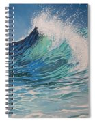 Sparkling Turquoise Spiral Notebook