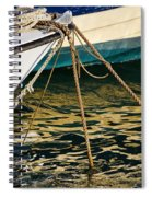 Sparrow At Lyme Regis Spiral Notebook