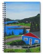 Sparrows Point - Ship Harbour N L Spiral Notebook