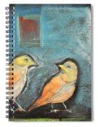 Sparrows Spiral Notebook