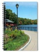 Spaulding Pond In Fall I Spiral Notebook