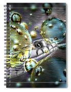 Speak With Forked Tongue - Featured In Nature Photography And Wildlife Groups Spiral Notebook