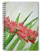 Spear Lily Spiral Notebook