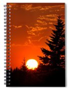 Spectacular Sunset IIl Spiral Notebook
